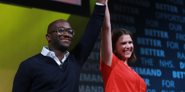 Jo Swinson welcomes our newest MP, Sam Gyimah to conference rally