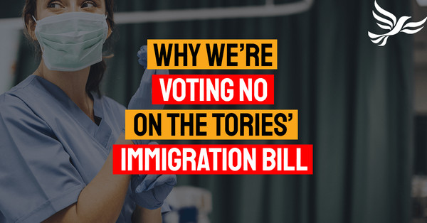 Why we're voting no on the Tories' immigration bill