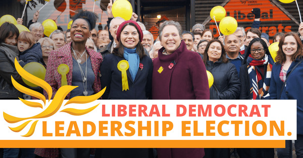 We've announced a new timetable for our leadership election, with a new leader by summer. Learn more here. Image: a group of Liberal Democrats with our logo and the words Liberal Democrat Leadership Election
