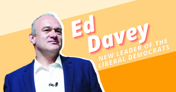The new leader of the Liberal Democrats is...Ed Davey!