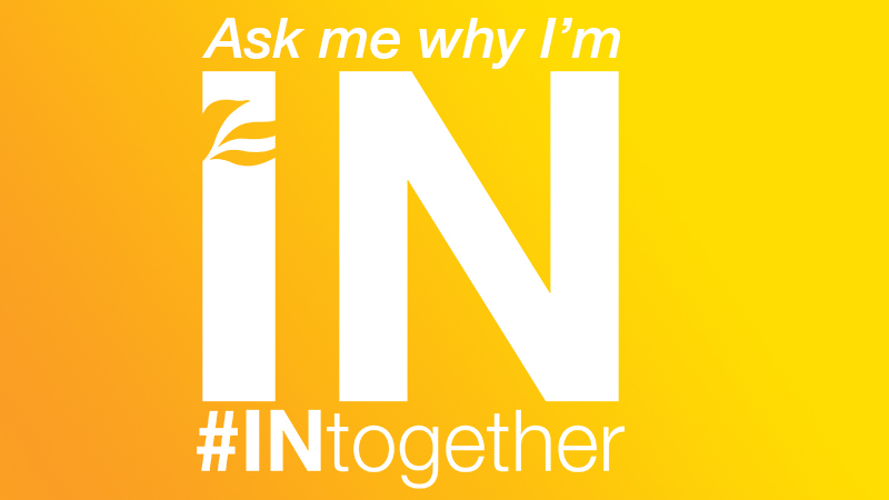 Why we're #INtogether