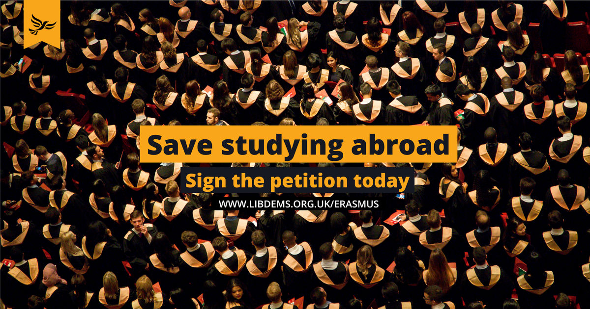 Save studying abroad