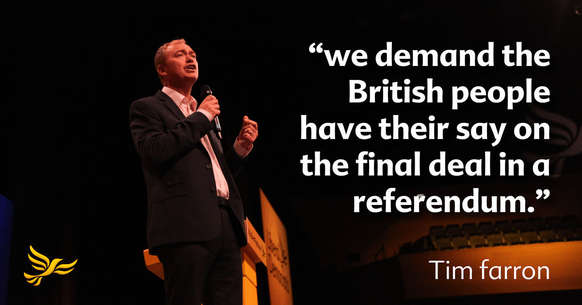 The Liberal Democrat Plan for Britain in Europe