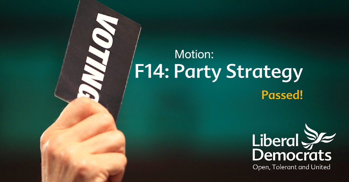 F14: Party Strategy