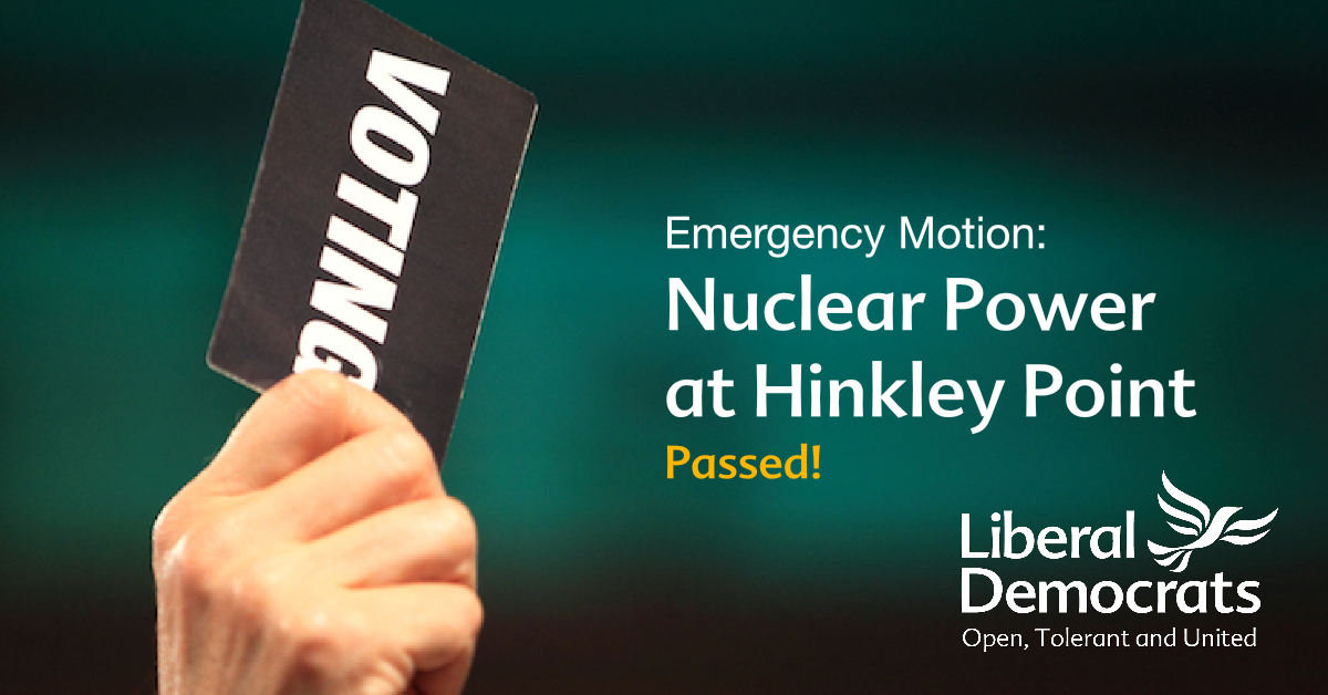 F26: Emergency Motion: Nuclear Power at Hinkley Point