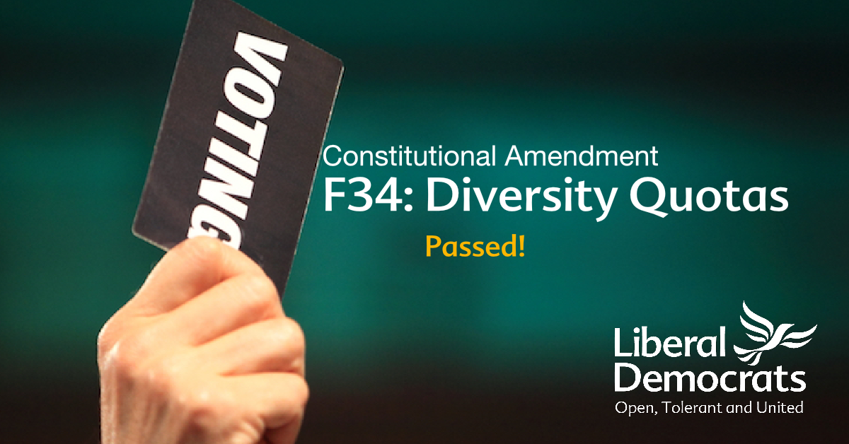 F34: Diversity Quotas