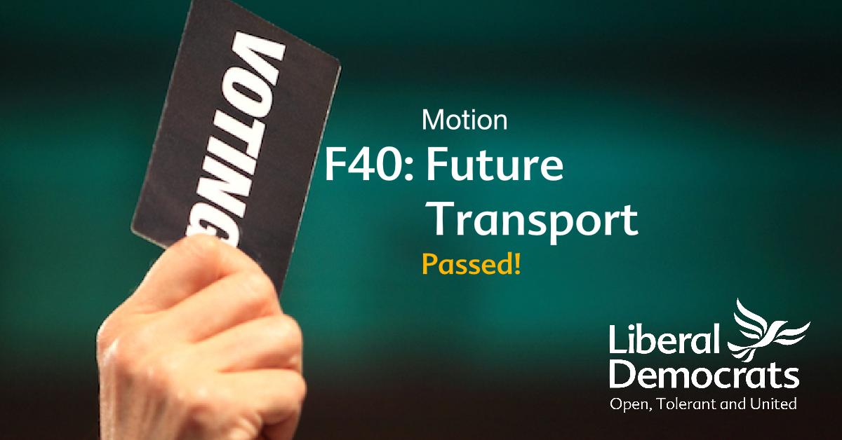 F40: Future Transport