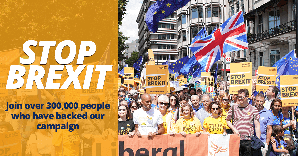 I want to stop Brexit