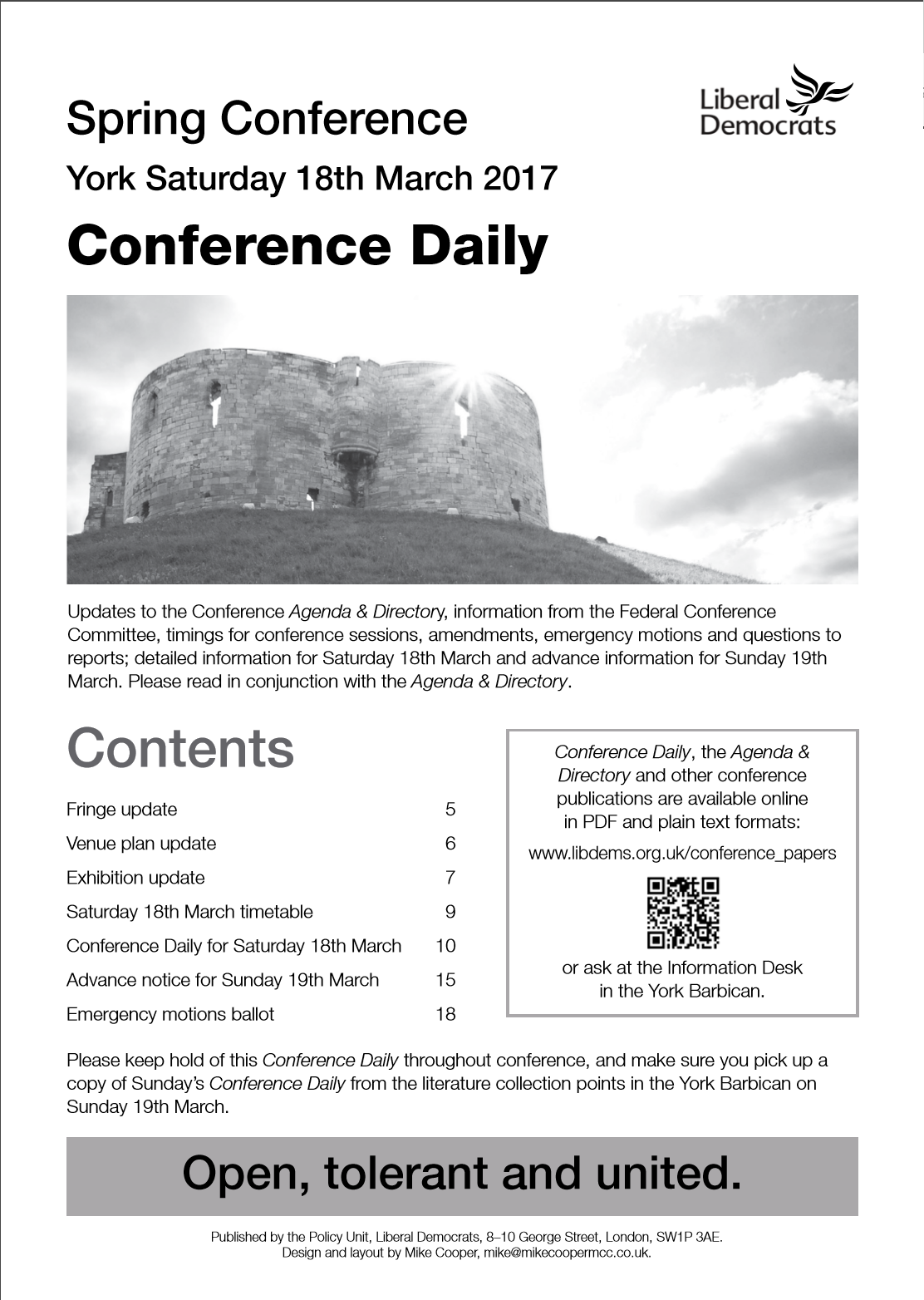Download Conference Daily