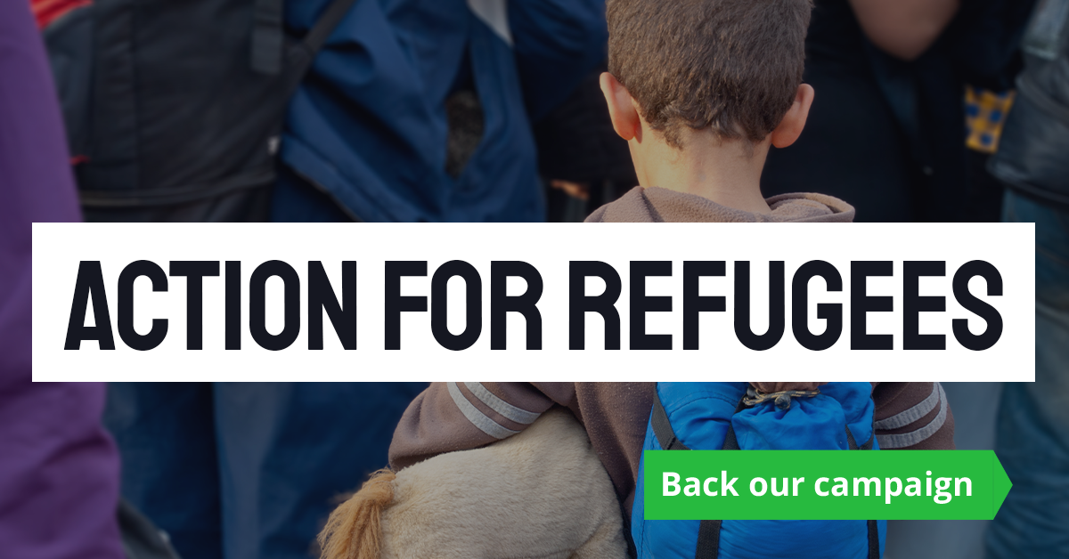 Welcoming refugees with compassion