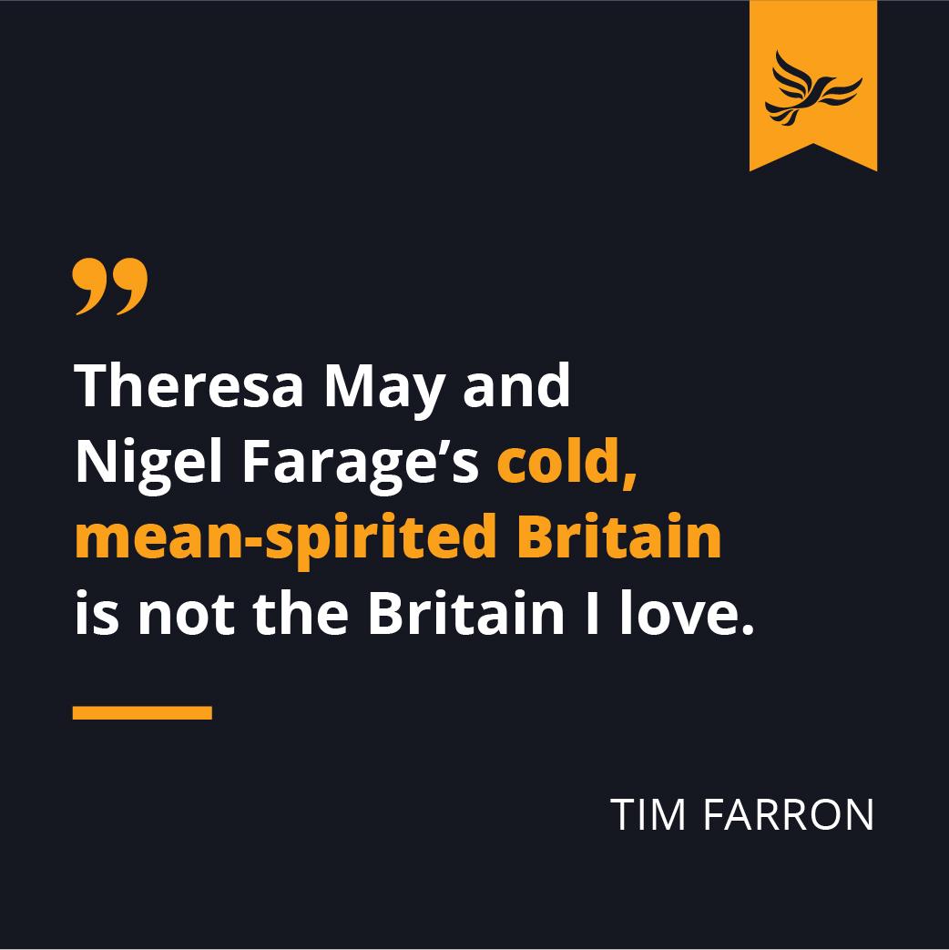 Tim Farron quote