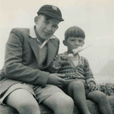 Vince Cable as a child in York.