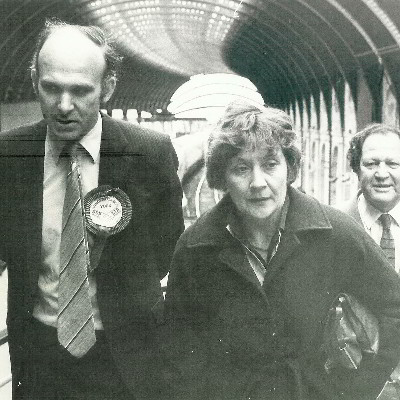 Vince and Shirley Williams campaigning in York in the 1980s