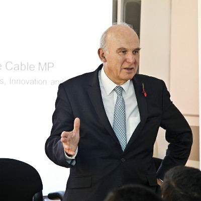 Vince was Minister for Business, Innovation and Skills during the coalition