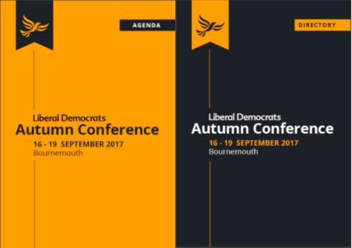 Autumn Conference 2017 Agenda
