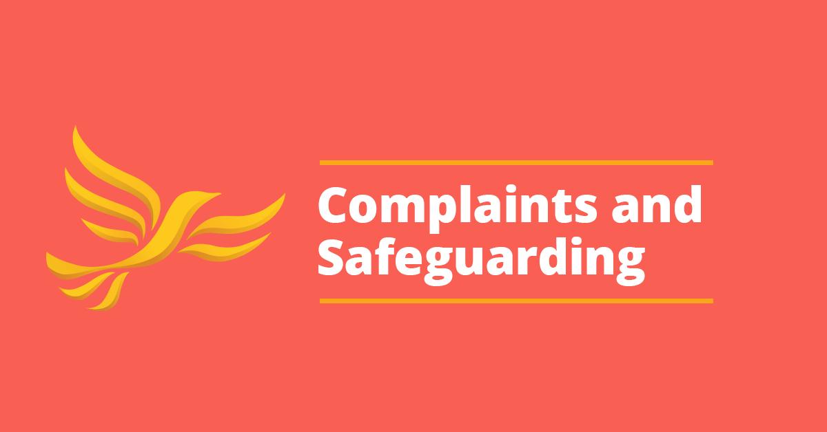 Complaints & Safeguarding