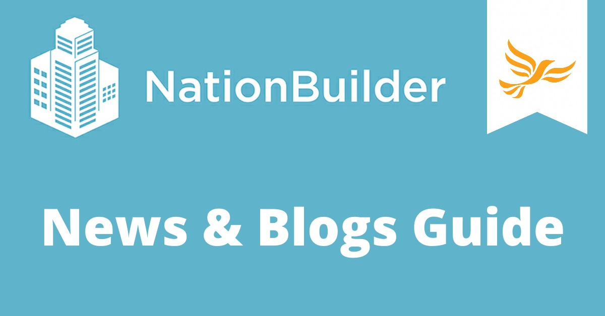 News and Blogs Guide