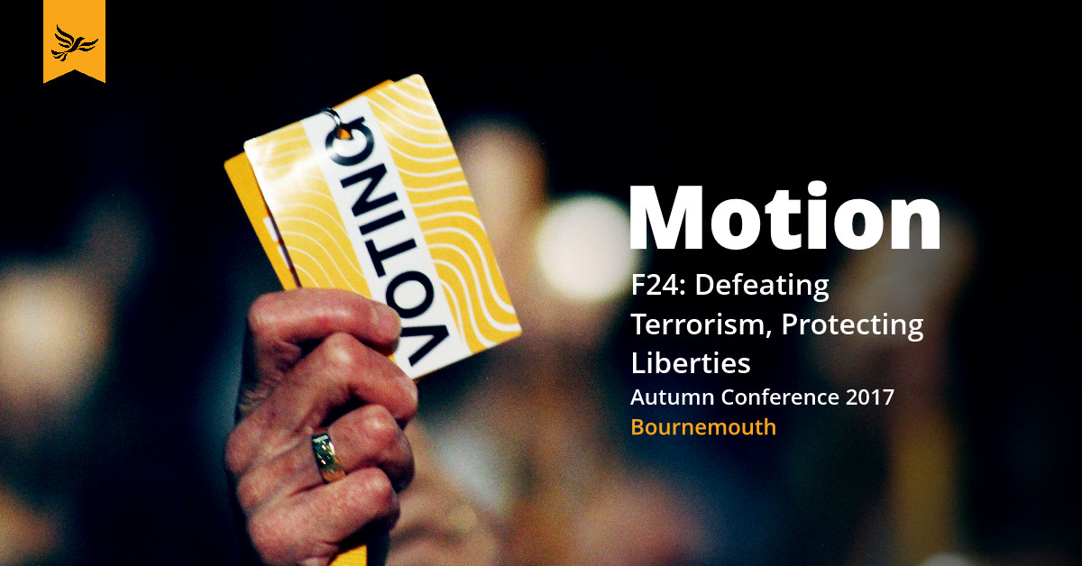 F24: Defeating Terrorism, Protecting Liberties