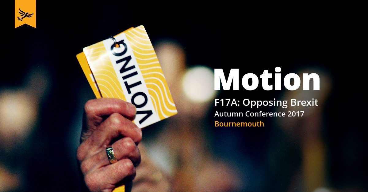 F17A: Opposing Brexit