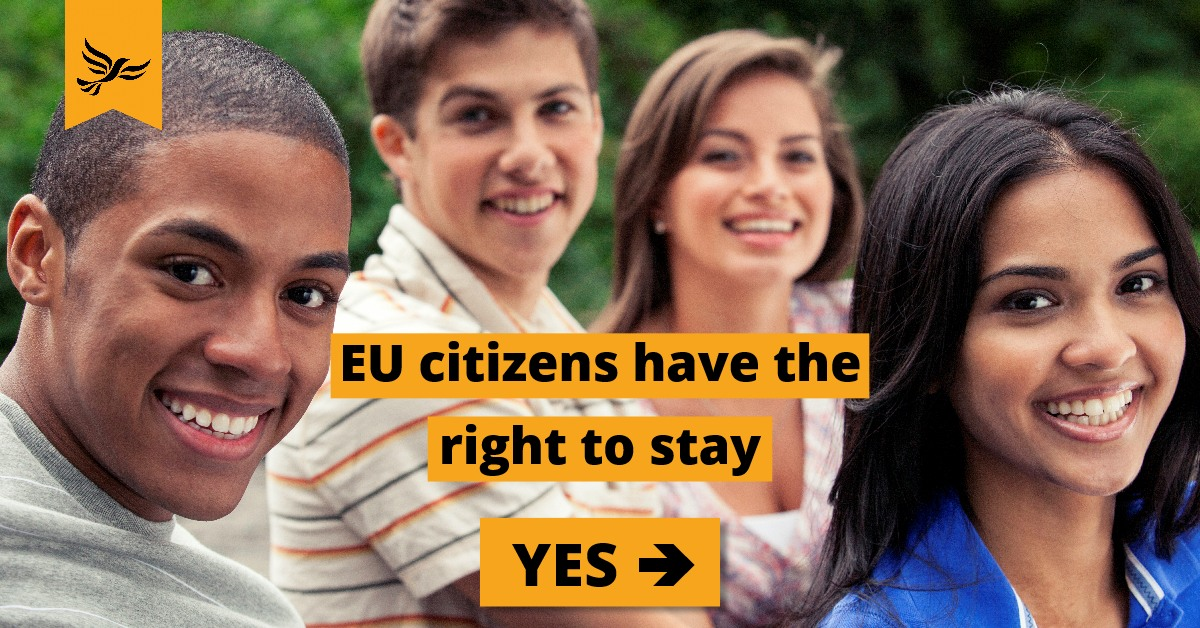 EU Citizens have the right to stay