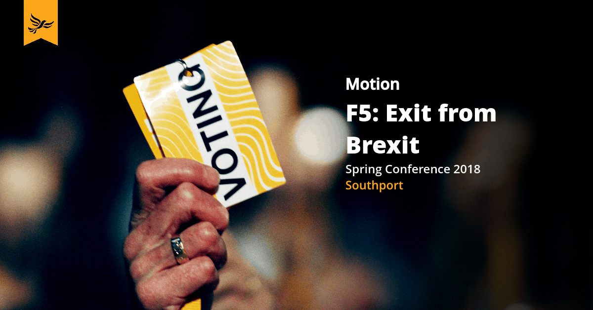 F5: Exit from Brexit