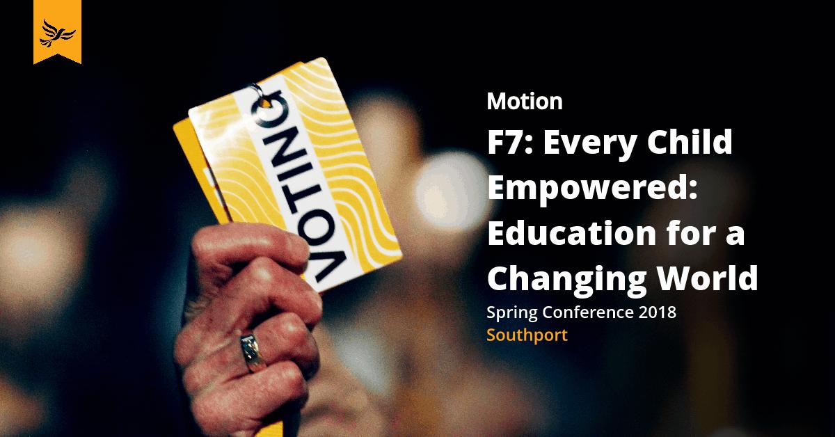 F7: Every Child Empowered