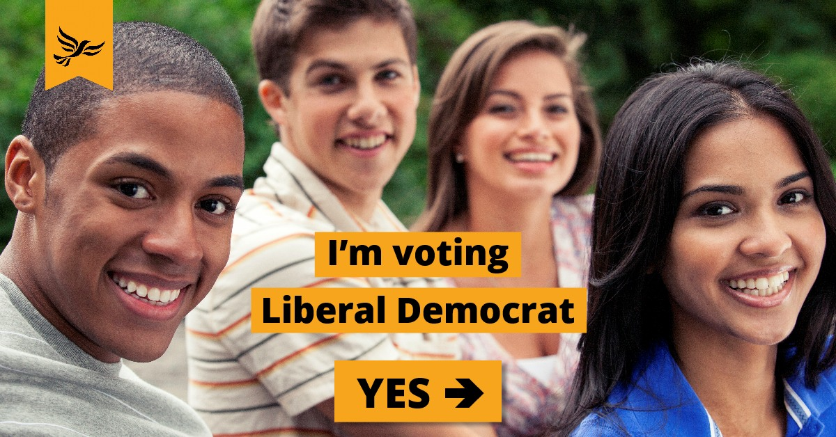 Vote Liberal Democrat