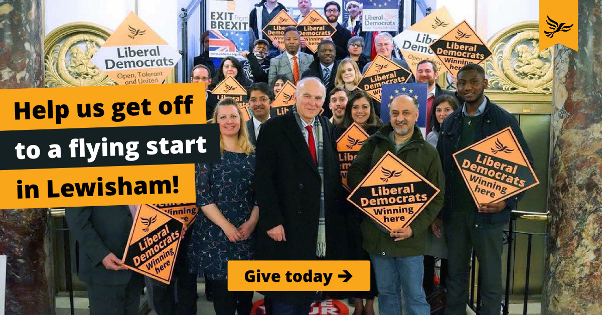 Help us get a great result in Lewisham