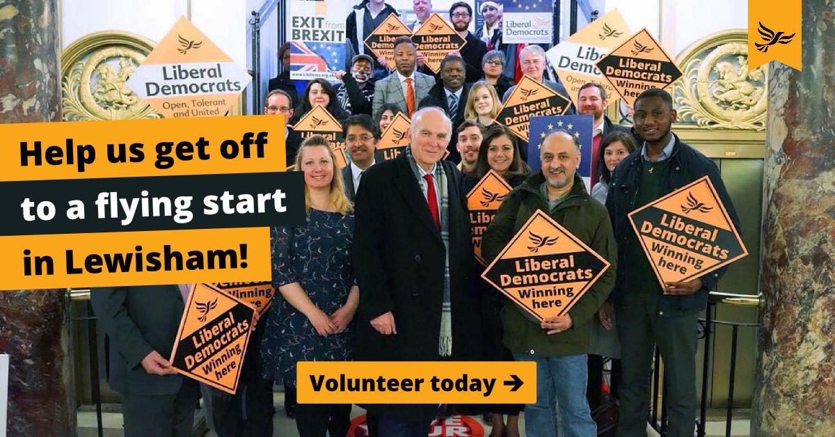 Volunteer to help out in Lewisham!