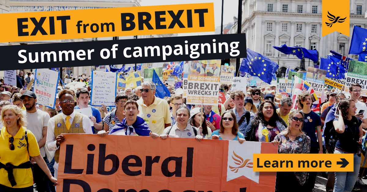 Exit from Brexit - Summer of Campaigning
