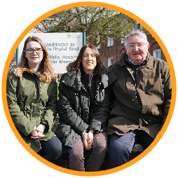 Kirsty Williams, Jane Dodds and Roger Williams