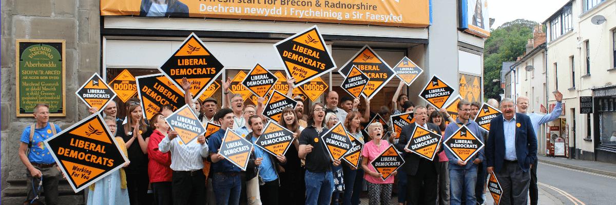 Help us win in Brecon and Radnorshire
