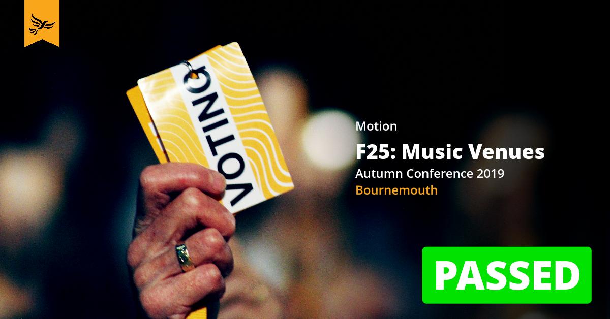 F25: Music Venues