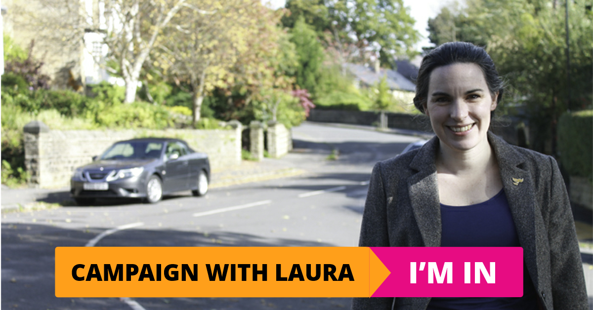 Help us get Laura elected as MP for Sheffield Hallam!
