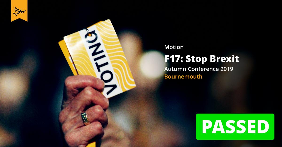 F17: Stop Brexit