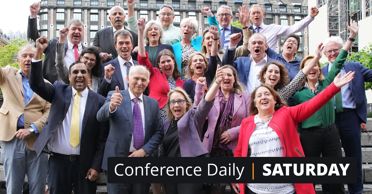 Conference Daily - Saturday 14th September
