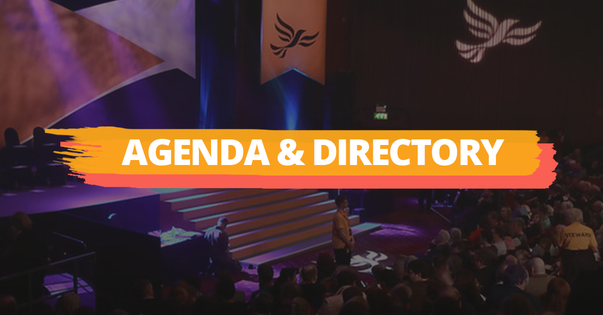 Conference Agenda & Directory