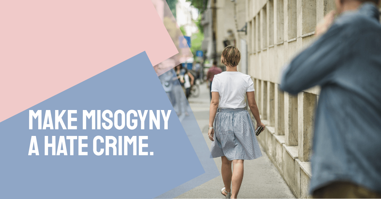 IWD 2020: Recognise misogyny as a hate crime