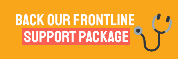 Join our campaign to give frontline support workers the help they need