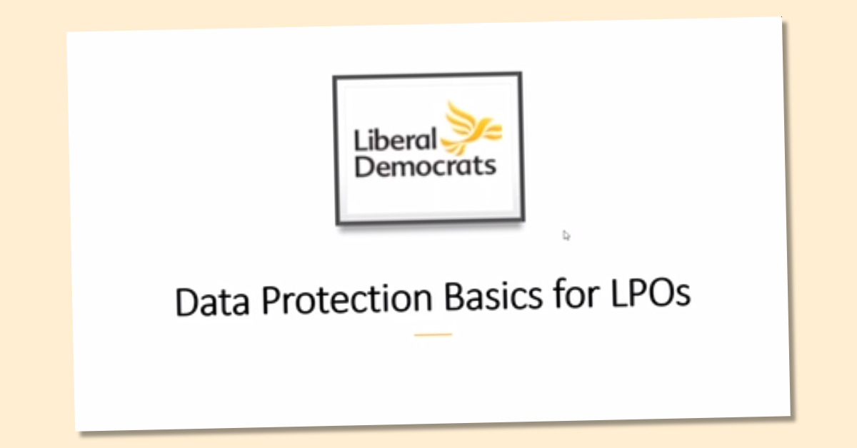 Data Protection training 2020