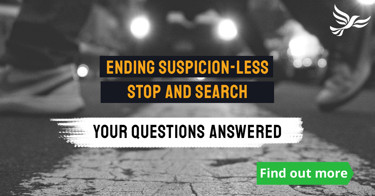 Ending suspicion-less Stop and Search: your questions answered
