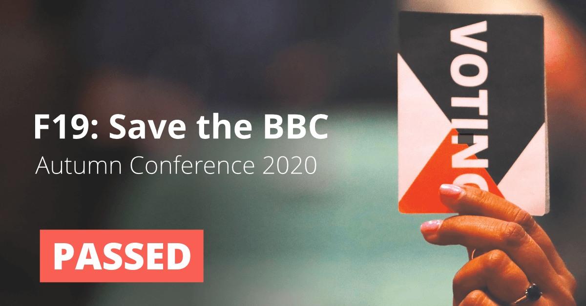 F19: Save the BBC