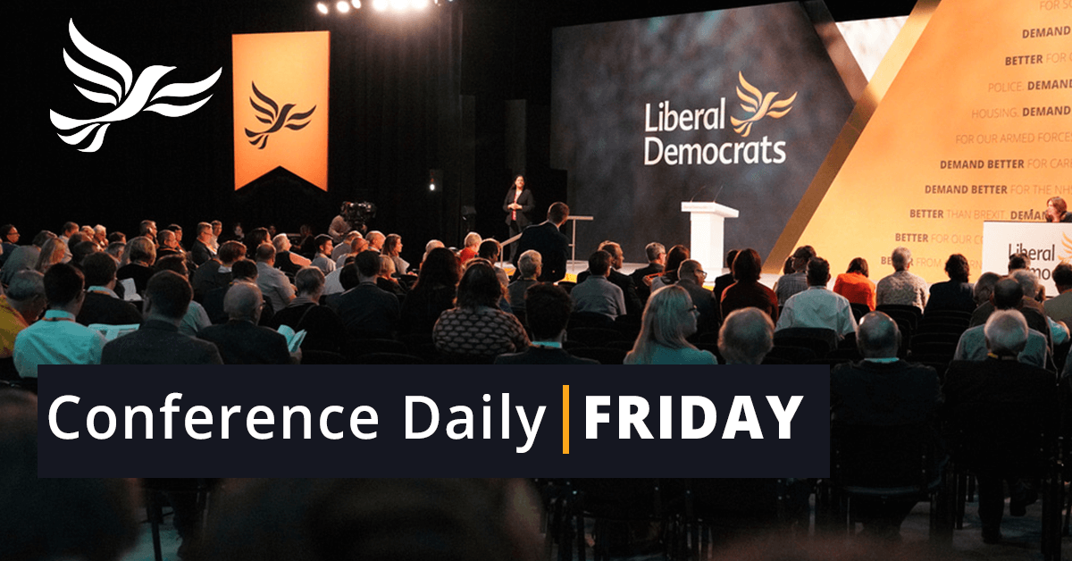 Friday Conference Daily