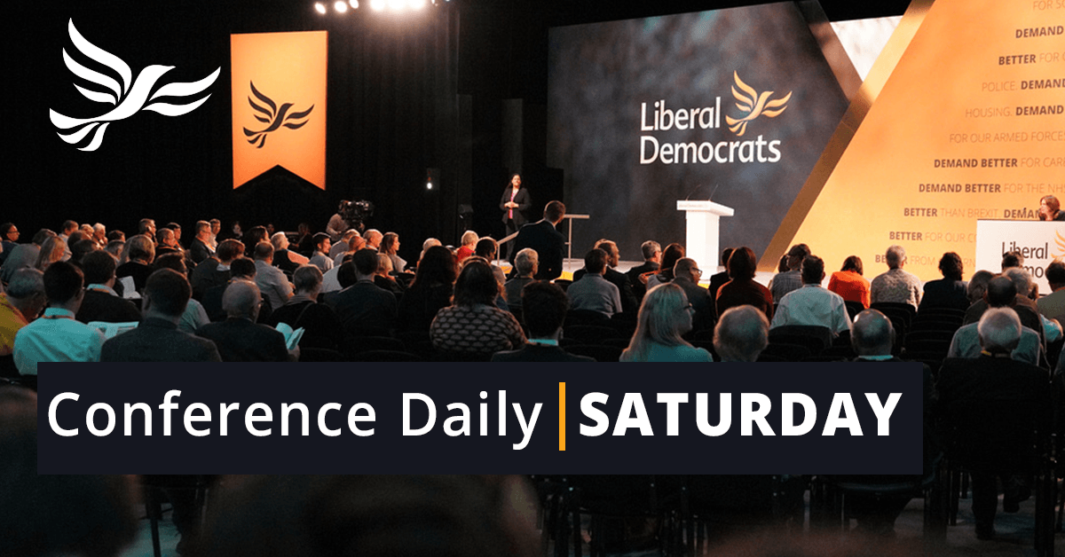Saturday Conference Daily
