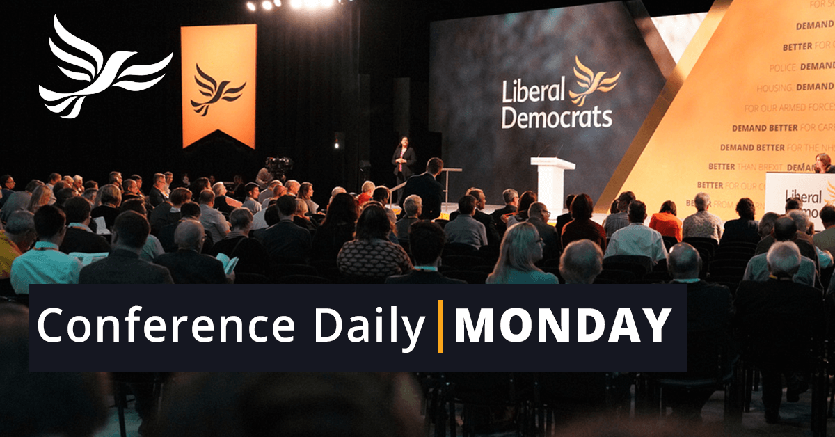 Monday Conference Daily