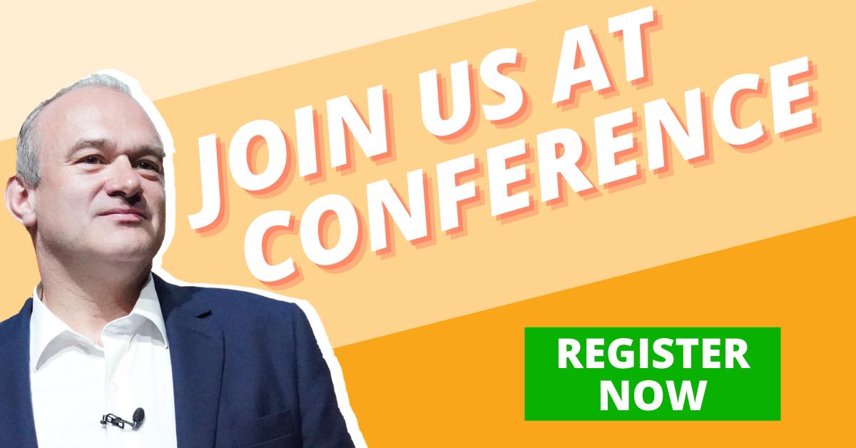 Register for Conference - Liberal Democrats