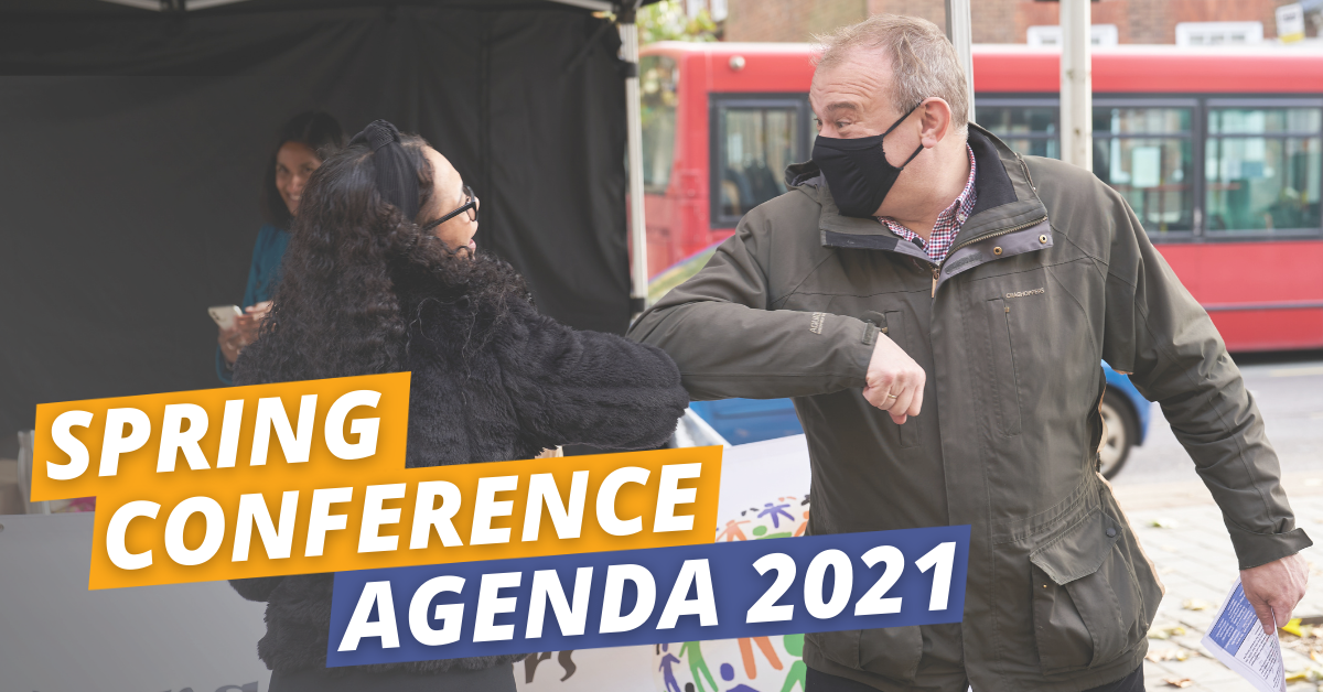 Conference Agenda - Spring 2021