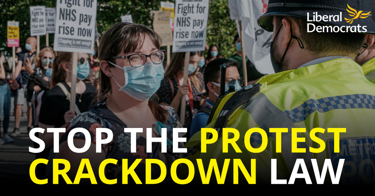 Stop the Protest Crackdown Law