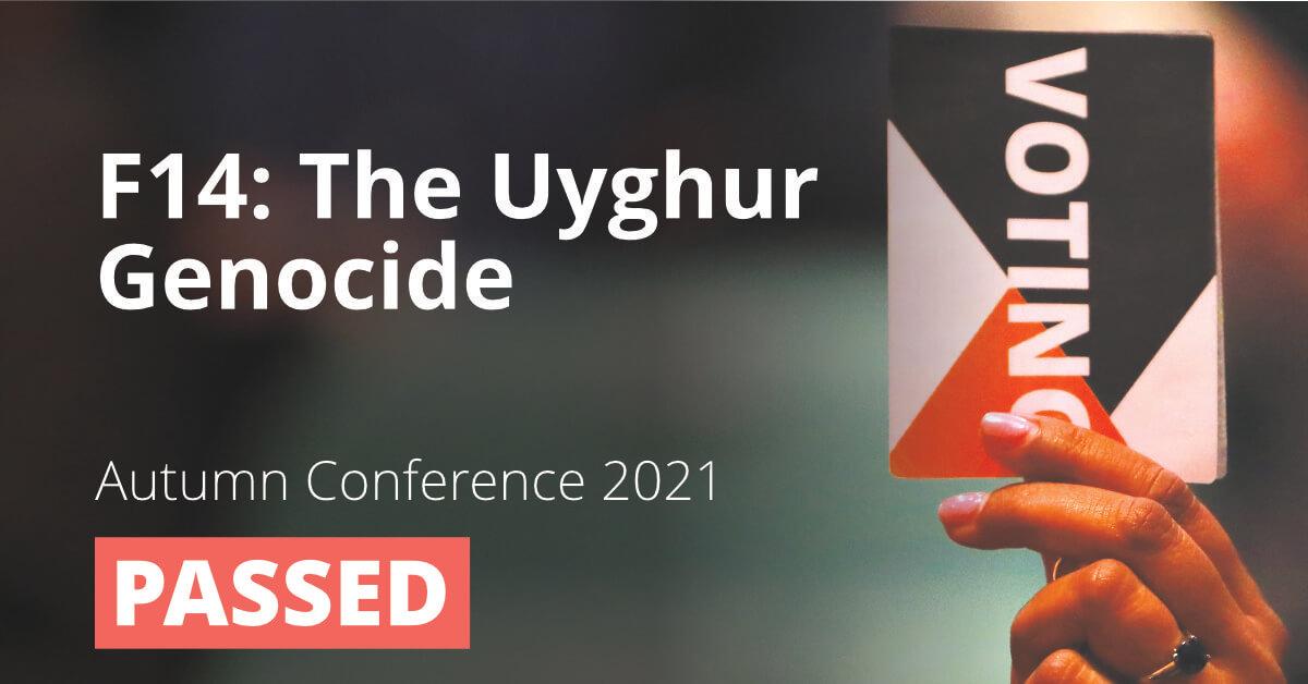 F14: The Uyghur Genocide