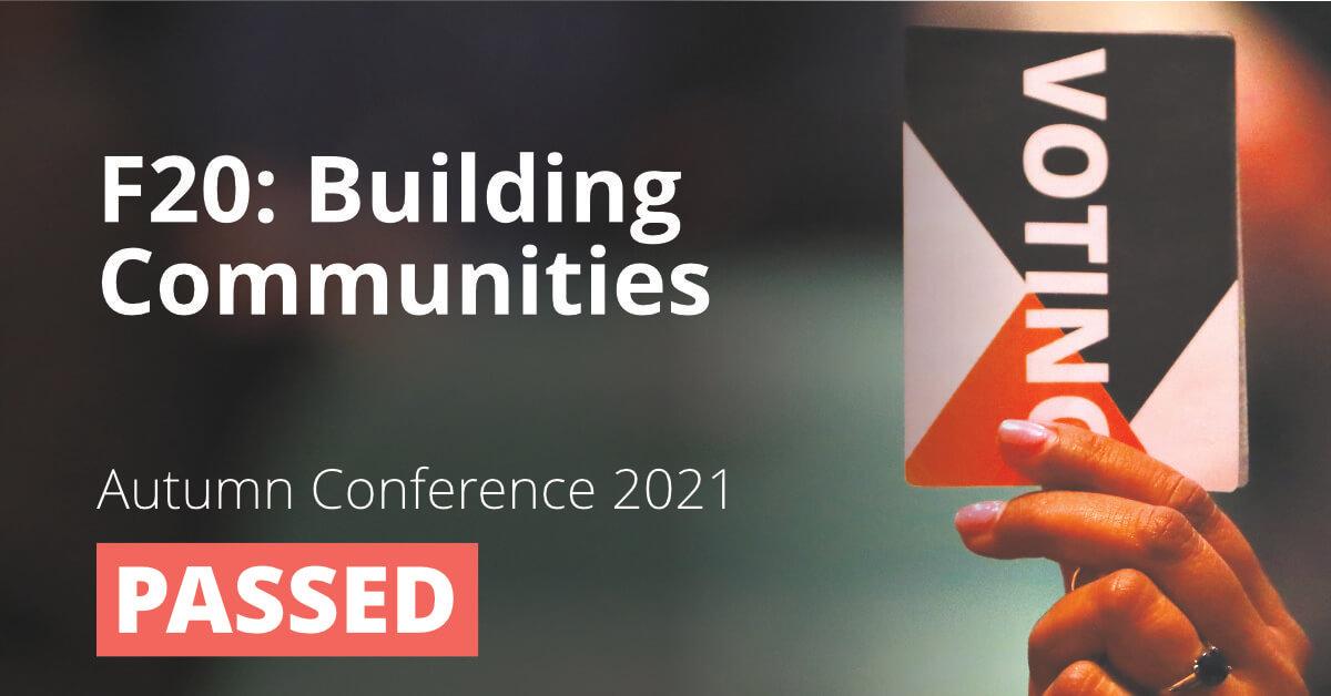F20: Building Communities